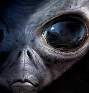 ilustrasi alien