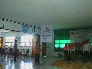 Kepala Sekolah SMA Negeri 2 Bitung Melantik Pengurus Rohis Yang Baru (2)