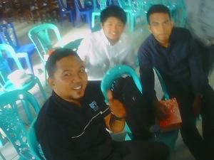 Bersama Ketua Rohis SMA Negeri 2 Bitung: Steven Rahman Atomals